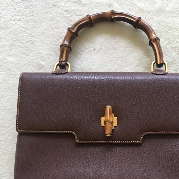 1bb233c59197 Gucci Handbags - Gucci Authentic Vintage Brown Handbag
